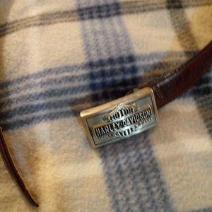💥Harley Davidson Belt & Belt Buckle